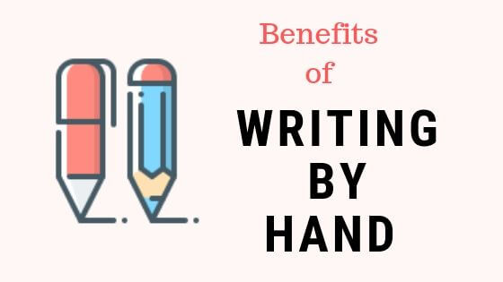 benefits of writing by hand