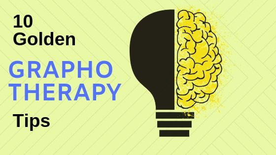 10 golden graphotherapy tips